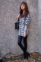 H&M shirt - American Apparel - payless - vintage purse