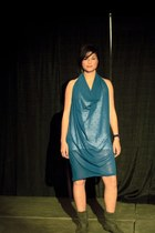 teal Monica Love dress