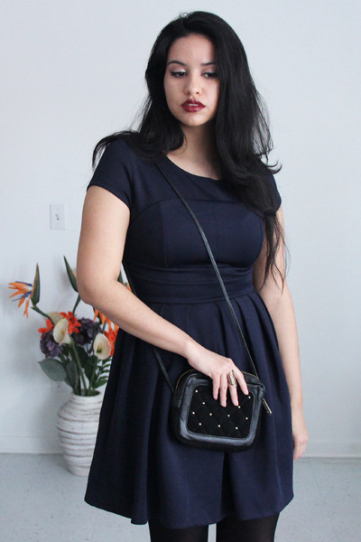 studded bag asos purse - skater BB Dakota dress