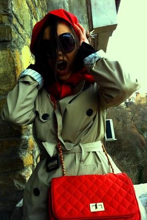 red Calliope bag - beige Koton blazer