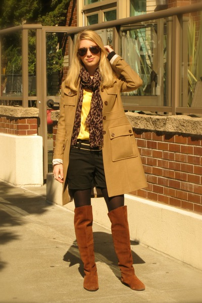 Over The Knee Chinese Laundry Boots, Miltary Banana Republic ...