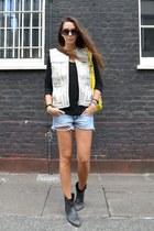 H&M jacket - balenciaga bag