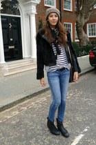 ASH boots - Mango jeans - Zara t-shirt