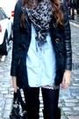 Forever21-skirt-giuseppe-zanoti-boots-diesel-hat-bershka-jacket
