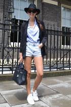 Zara jacket - Hermes bag - Primark shorts - Adidas sneakers