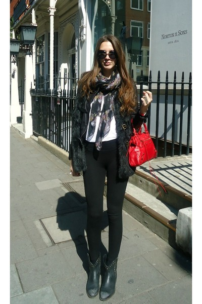 Zara leggings - ASH shoes - Bershka jacket - balenciaga bag
