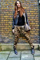 Zara pants - ASH boots - Louis Vuitton bag