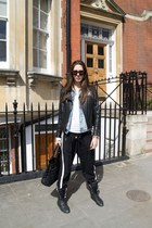 Zara jacket - dior bag - Chanel sneakers - Primark pants