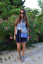 Chanel bag - River Island sandals - River Island skirt