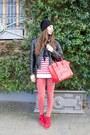 Topshop-jeans-vintage-jacket-celine-bag-isabel-marant-sneakers