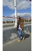 giacomorelli shoes - Mango jeans - Zara jacket - Chanel bag