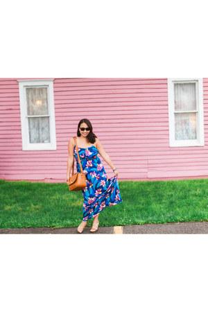 ona bags bag - Forever 21 dress - Ray Ban sunglasses
