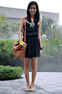 Black-cotton-on-romper-forever-21-accessories