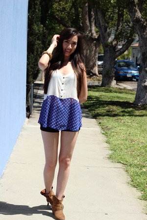 mini shorts unknown shorts - unknown top