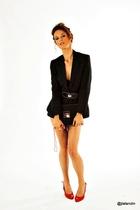 Zara belt - BLANCO shoes - Stradivarius jacket