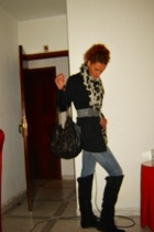 Zara boots - Zara scarf - Stradivarius