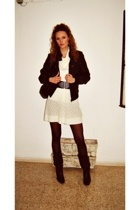 H&M dress - BLANCO jacket - Zara belt