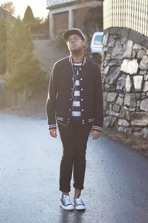 navy Forever 21 jacket