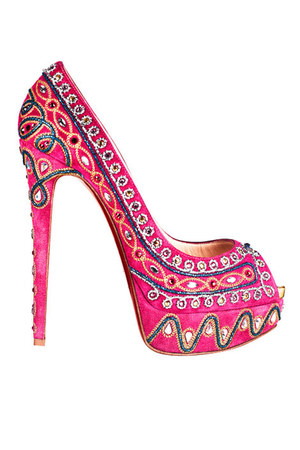 bubble gum Christian Louboutin pumps