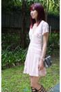Printed-love-lemons-dress-silver-miu-miu-bag-stuart-weitzman-sandals