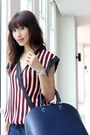 White-zara-top-navy-zara-jeans-blue-leather-alma-louis-vuitton-bag