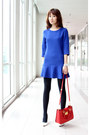 Blue-mood-closet-dress-black-winter-leggings-uniqlo-tights
