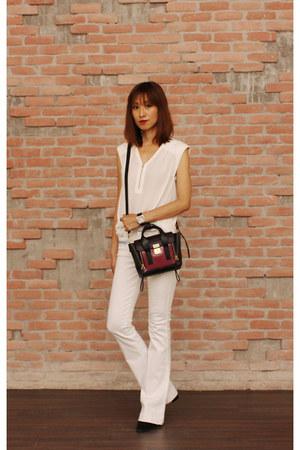 31 Phillip Lim bag - 7 for all mankind jeans - Mood & Closet jacket