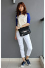 White-gap-jeans-black-proenza-schouler-bag