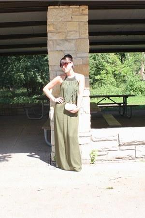 Zara dress - Just Fabulous bag