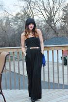 asos belt - just fab bag - Express jumper - just fab heels