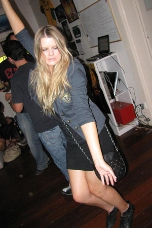 Pilgrim blazer - Sportsgirl purse - Mystery boots - American Apparel skirt - cut