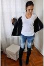 Black-club-monaco-blazer-blue-zara-jeans-black-topshop-boots-black-zara-pu