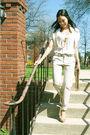 Beige-donna-karen-sweater-beige-fcuk-necklace-beige-zara-pants-beige-aldo-