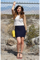 H&M top - Nasty Gal skirt