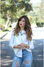 Sky-blue-zara-jeans-white-topshop-shirt-black-zara-sandals