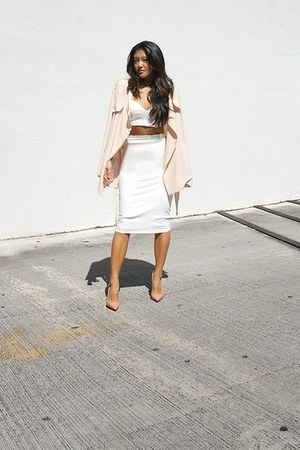 gold ring set rings Topshop ring - white Hot Miami Styles skirt