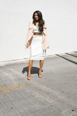 gold ring set rings Topshop ring - white Hot Miami Styles skirt