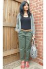 Silver-gap-cardigan-green-new-look-pants-red-topshop-shoes-silver-oushka-l