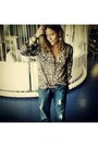 Superdry-jeans-animalier-h-m-blouse