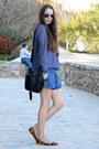Zara-shirt-bershka-bag-stradivarius-shorts-zara-flats