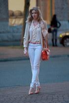 botkier bag - Gap jeans - SANDRO blouse