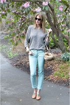 Zara shoes - American Apparel sweater - Chloe bag - SANDRO pants