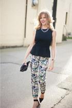 Zara pants - H&M top - Alexander Wang heels