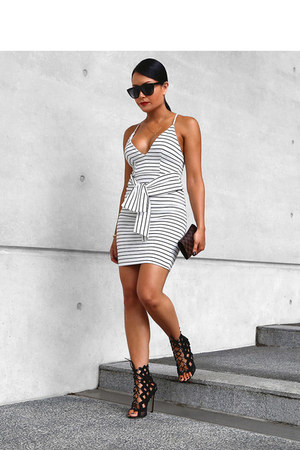 stripe dress Mura dress
