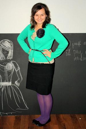 sweater - shirt - skirt