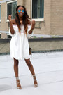 Sundress-asos-dress-taupe-suede-steve-madden-heels