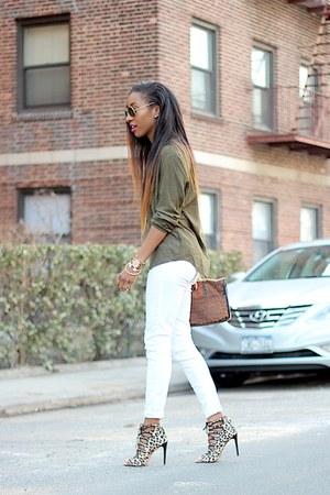 Zara heels - Zara blouse