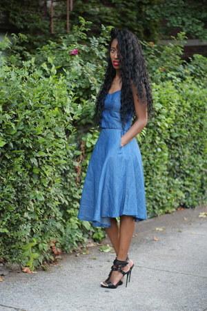Zara dress - Giuseppe Zanotti heels