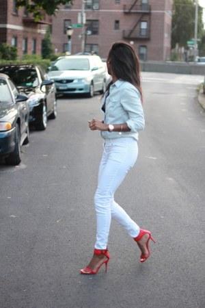 H&M shirt - H&M pants - Zara heels