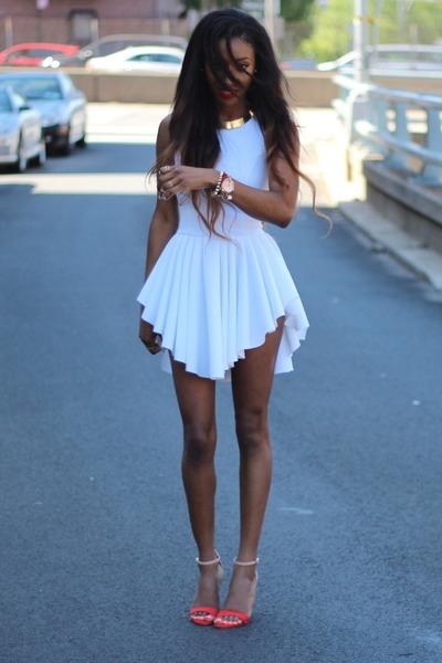 Zara heels - styleninacom dress